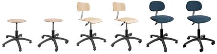 6 SystemPro Economy Stühle