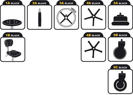 9 modułów System Pro Black