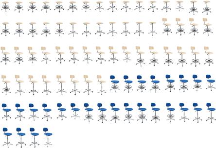 84 krzesła SystemPro